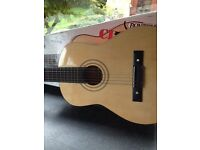 Guitar child's wooden classic instrument