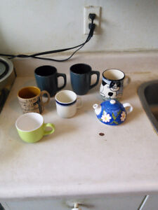 6 Mugs for sale from $1 each