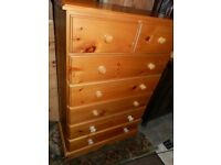 Large solid pine drawers
