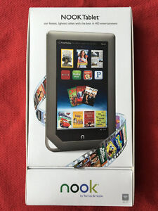 """NOOK Tablet 16GB Wi-Fi 7"""" Touchscreen Book Reader 1GHz Dualcore"""