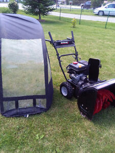 snowblower with cab