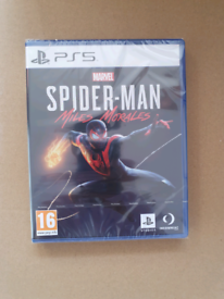 Spiderman Miles Morales - PS5 -Brand New/Factory Sealed