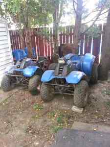 2 Polaris Trail Boss 2stroke