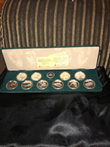 Silver coins , bars, Gold