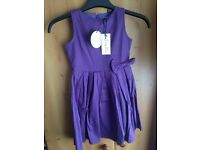 Lindy Bop Kids Vintage Dress 5-6yrs