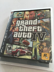 PS3 Game - Grand Theft Auto IV