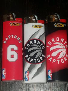 Toronto raptors BIC lighters
