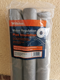 22mm Pipe Insulation (2packs of 3)