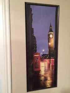 Big Ben framed art Peterborough Peterborough Area image 1