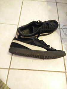 Puma Fur Covered Runners rare great shape