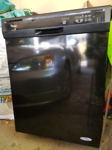 Heavy Duty Whirlpool Dishwasher with 1-Hour Wash Cycle