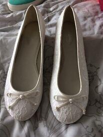 Wedding Balarina shoes