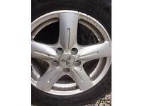 Mitsubishi Alloy wheels