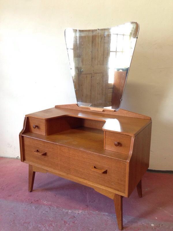 Vintage g plan dressing table mid century retro bedroom for G plan bedroom furniture dressing tables