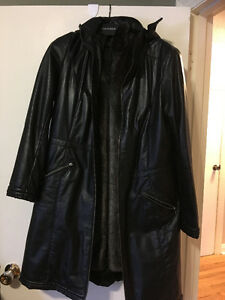 Ladies Danier leather coat
