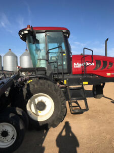 SWATHER -2013 MacDon M155 Swather with a 35' D65-D Draper Header