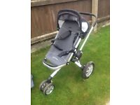 Quinny buzz pushchair and attachments