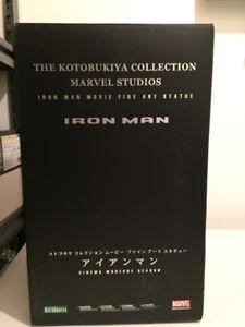 ***RARE**Statue Iron Man Mark III Kotobukiya LIMTED EDITION