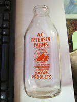 BELLE PINTE DE LAIT ANCIENNE , A.C PETERSEN FARMS