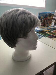 Grey Wig, short hair
