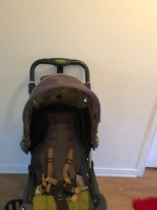 Portable stroller with canopy. AVAILABLE