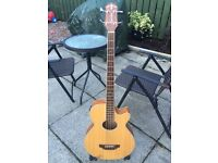 Crafter Semi-acoustic Bass Guitar