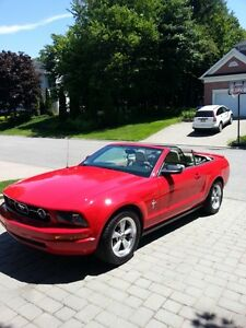 2007 Ford Mustang cuir beige Cabriolet