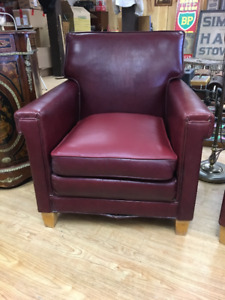 Vintage Leather Cigar/Club Chair