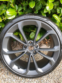 Mclaren Alloy Wheel, P-Zero Corsa Tyre