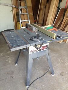 Craftsman 10 inch table saw.