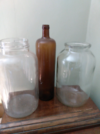 Storage jars- useful jars for putting things in