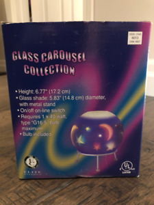 Elite Classics Glass Carousel Collection (Hot Air Balloons)