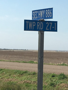 Section of Grass land for sale south of Cereal, AB