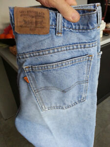 """32"""" Waist x 34 L Beautifully Faded LEVI'S 619 mens jeans awesome"""