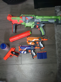 Used, Nerf guns! for sale  Ely, Cardiff