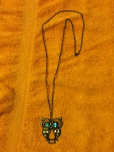 Owl Necklace (Just Reduced Price) (BRAND NEW)