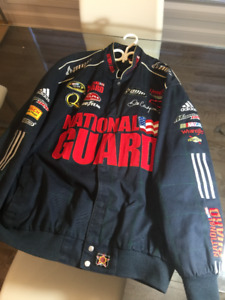 NASCAR , DALE JR 88 , JACKET , NATIONAL GUARD .