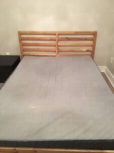 Queen size Bed & Mattress (IKEA)