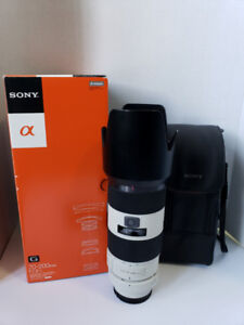 Sony 70-200mm F2.8 G Lens (A mount)