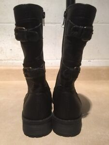 Women's Tall Black Boots Size 7 London Ontario image 5