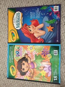 Large coloring books