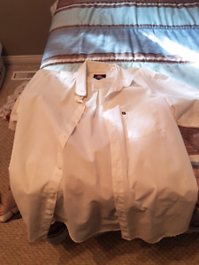 Men's medium white dress shirt