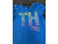 Cute Baby Girl 12m Tommy Hilfiger T-shirt bundle (worn)