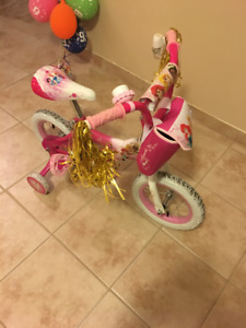 """KIDS BICYCLE 14"""" INCHES PRINCESS EDITION"""