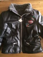 Harley Davidson toddler leather jacket