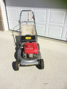Honda gas lawn mower