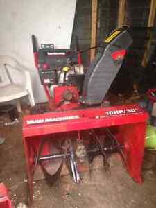 10/30 Snow Blower for Sale