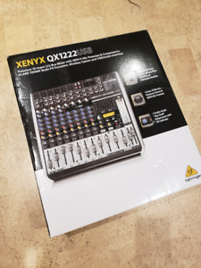 Behringer Xenyx QX1222USB Mixer with USB and Effects BNIB