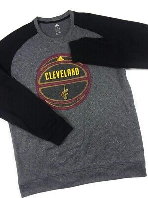 Adidas Climawarm Cleveland Cavalier Crew Neck Pullover Sweater Mens Size Large