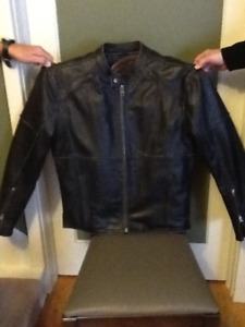 """Motorcycle leather jacket """"River Road"""""""